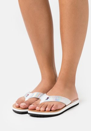 IRIDESCENT BEACH - Teensandalen - white