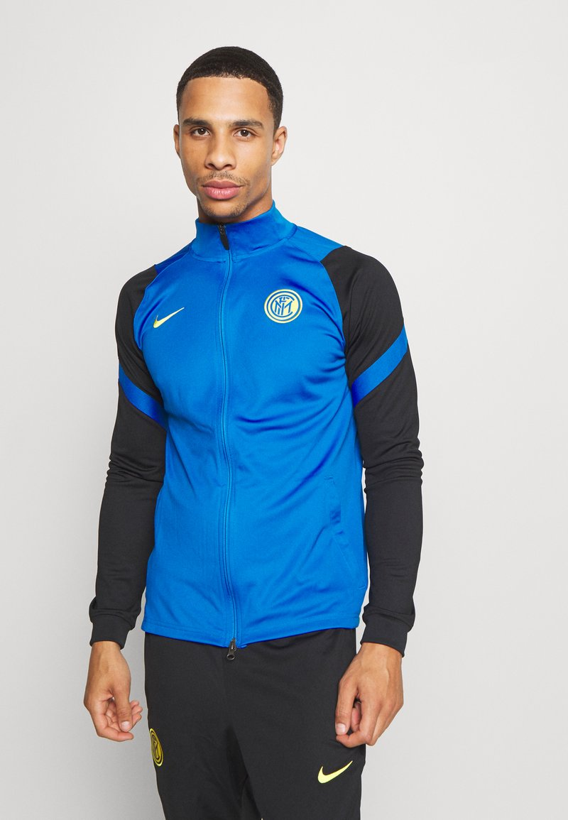 Nike Performance - INTER MAILAND DRY SUIT - Club wear - black/blue spark/tour yellow
