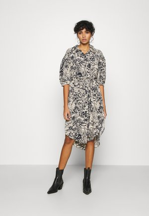 VALMA DRESS - Shirt dress - blue dark/landscape