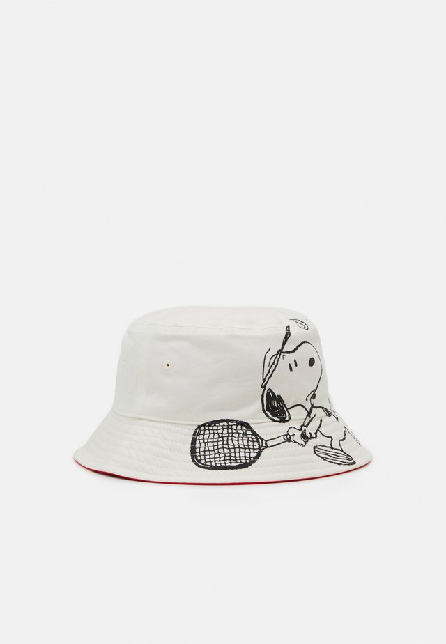 REVERSIBLE SNOOPY SPORT BUCKET HAT UNISEX - Hut - regular white