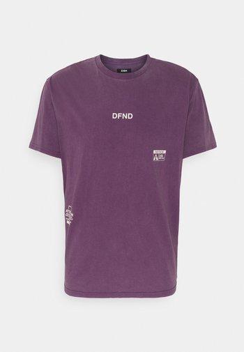 UNISEX - Triko spotiskem - purple