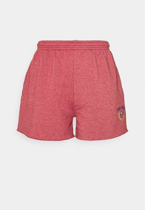 CREST EMBROIDERED LOGO - Shorts - red
