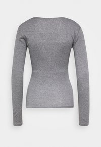 Opus - SORANA - Long sleeved top - easy grey - 1