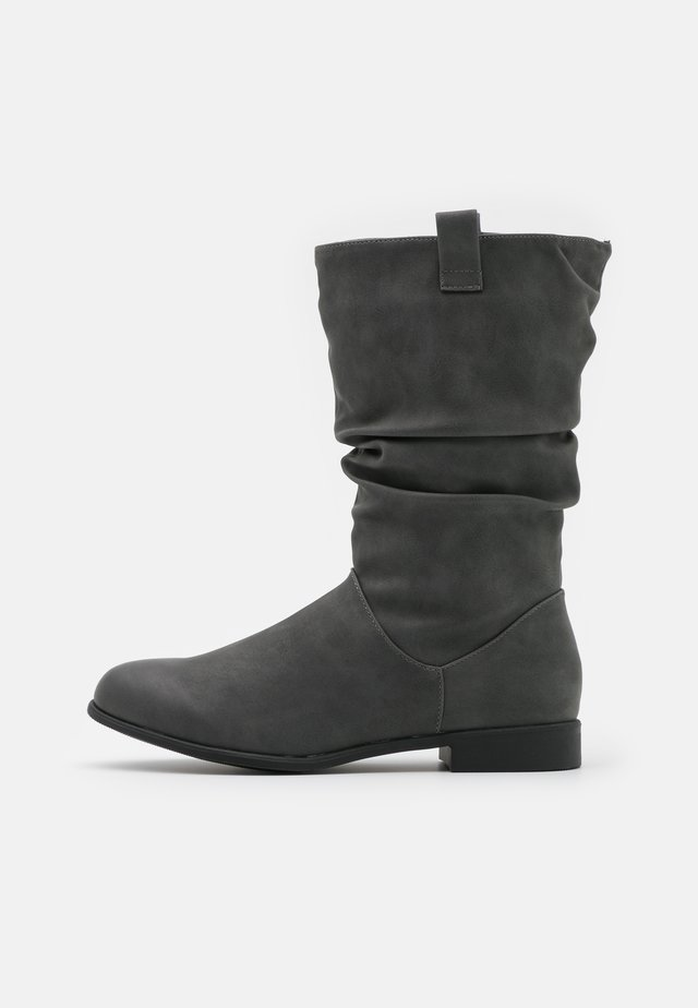 CHERISH - Botas - mid grey