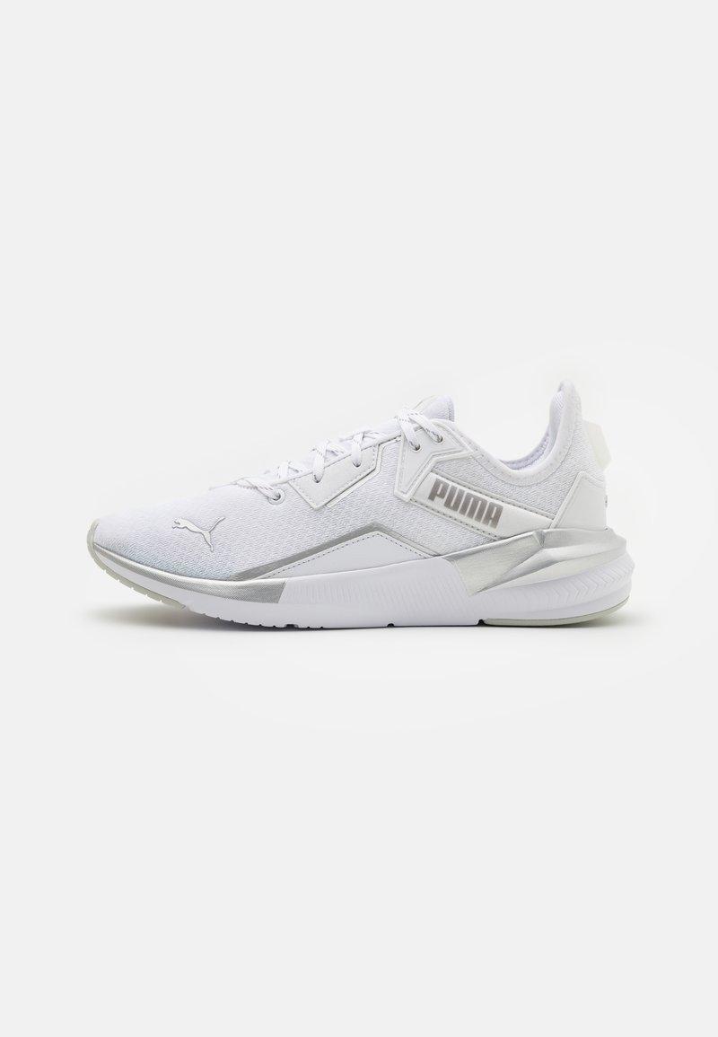 Puma - PLATINUM METALLIC - Zapatillas de entrenamiento - gray violet/white/metallic silver
