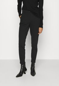 Opus - MELINA - Trousers - black - 0
