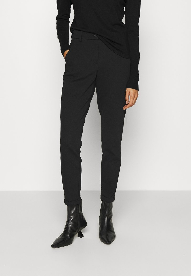 Opus - MELINA - Trousers - black