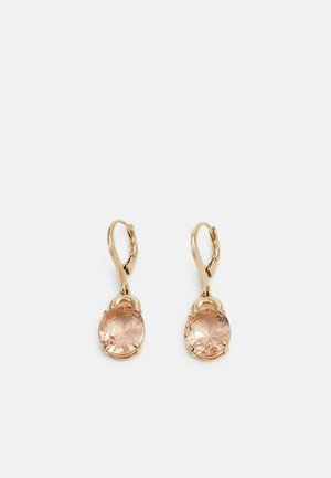 HESTER DROP - Earrings - gold-coloured/rose