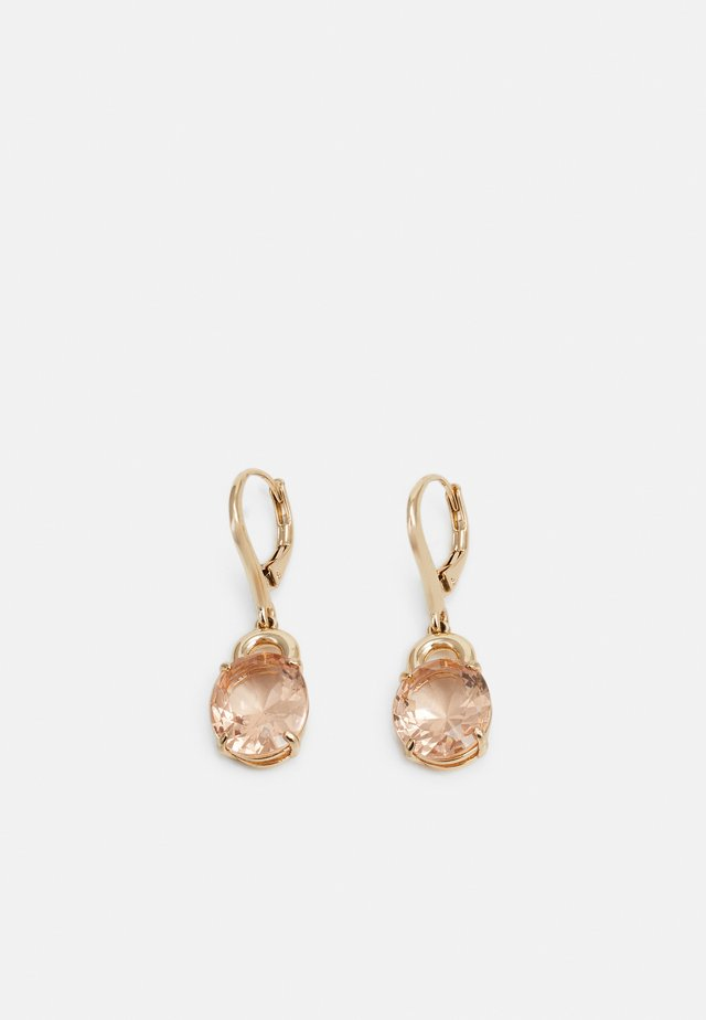 HESTER DROP - Boucles d'oreilles - gold-coloured/rose