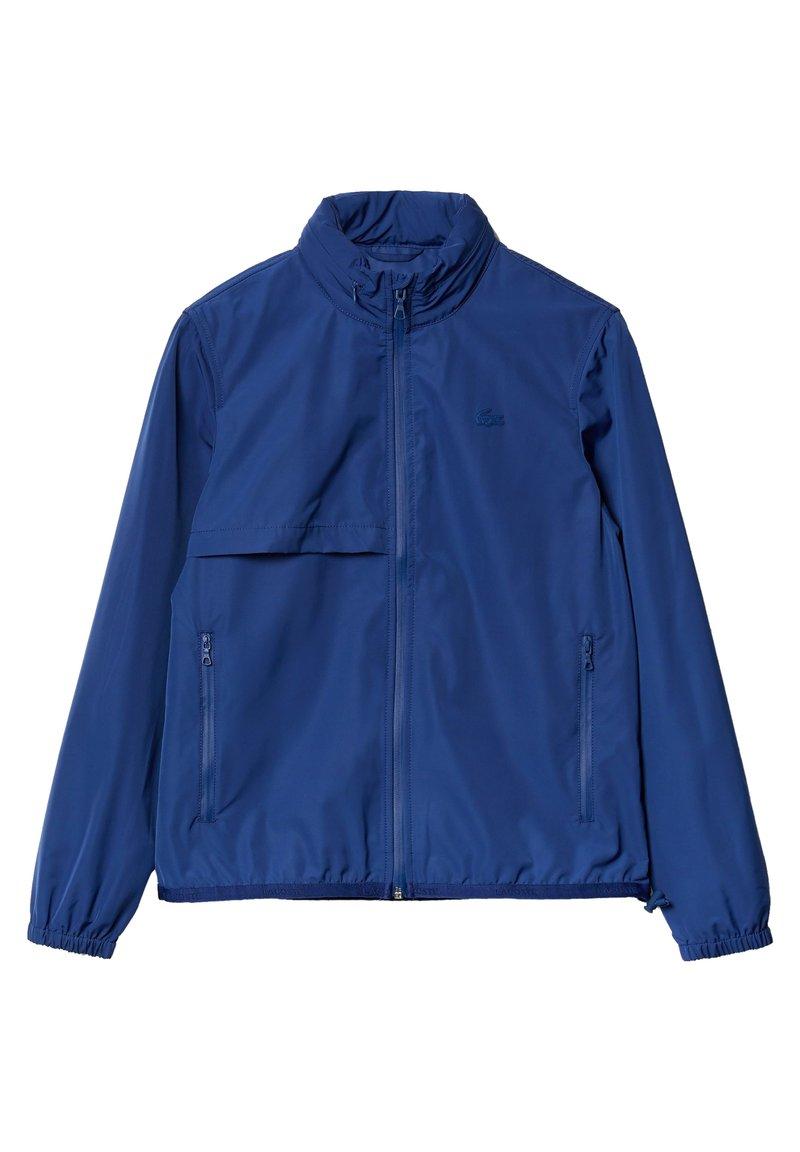 Lacoste - LACOSTE - BLOUSON FEMME - Veste de survêtement - bleu marine