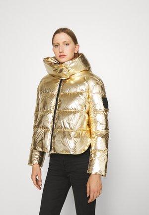 GIZA IMBOTTITO TELA SPECCHIO - Winter jacket - gold