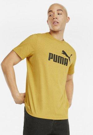 ESS ESSENTIALS HEATHER TEE RUNDHALS UNI - T-shirt sportiva - mineral yellow