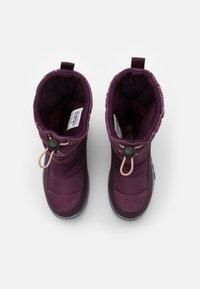 Kappa - CESSY TEX UNISEX - Winter boots - purple/rosé - 3