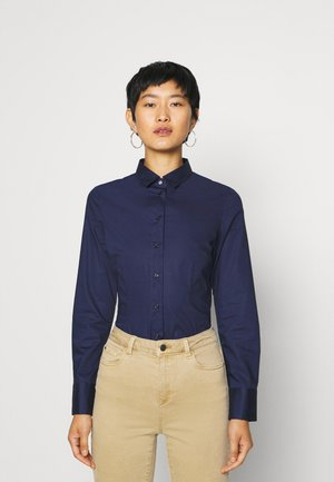 CITY - Button-down blouse - navy