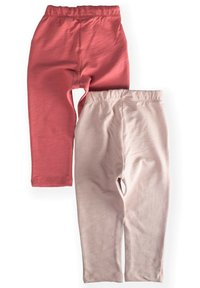 Cigit - POCKET BUTTONED  PACK OF 2 - Tracksuit bottoms - light pink - 1
