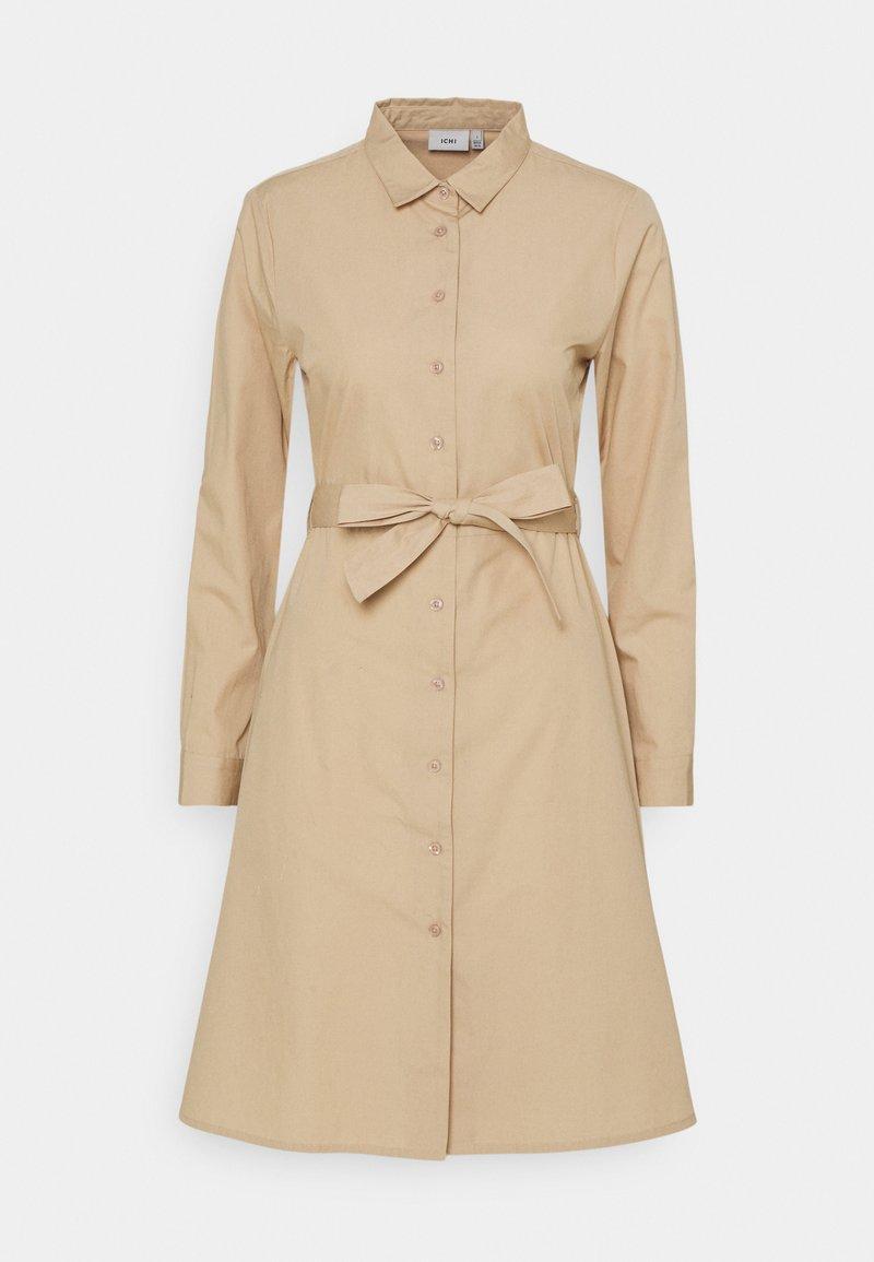 ICHI - SARAH  - Shirt dress - sesame