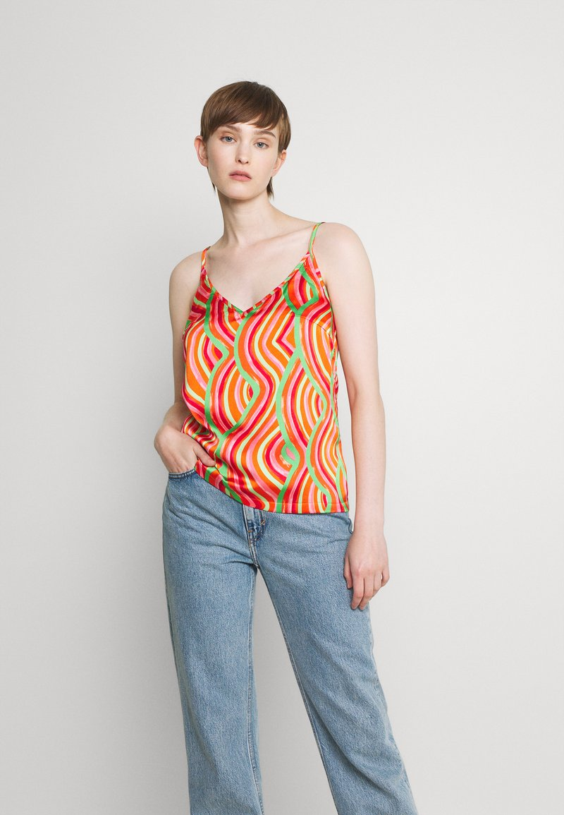 Never Fully Dressed - SUMMER RAINBOW CAMI - Top - multi