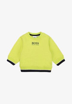 Sweatshirt - green lemon