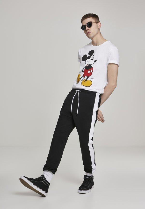 Mister Tee MICKEY MOUSE - T-shirt z nadrukiem - white/biały Odzież Męska YVTW