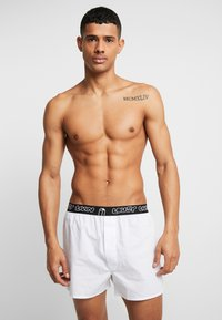 Lousy Livin Underwear - BRIEFS 2 PACK - Trenýrky - black/white - 1