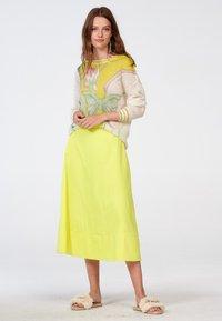 Laurel - A-line skirt - neongelb - 1