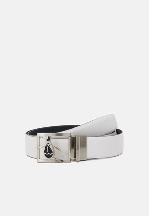 REVERSIBLE BELT PETE BUCKLE - Belt - white/navy