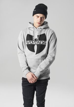 WU-WEAR  - Hoodie - heather grey