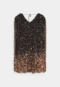 MANÉ - THEA DRESS - Cocktail dress / Party dress - washed black/rose gold - 0