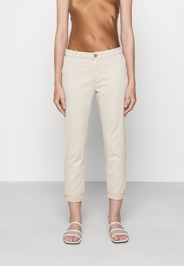 CADEN - Straight leg jeans - sand