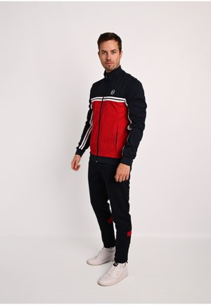 BIT TRACKSUIT - Tracksuit - navy/ared