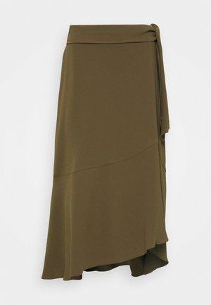 Wrap skirt - militare