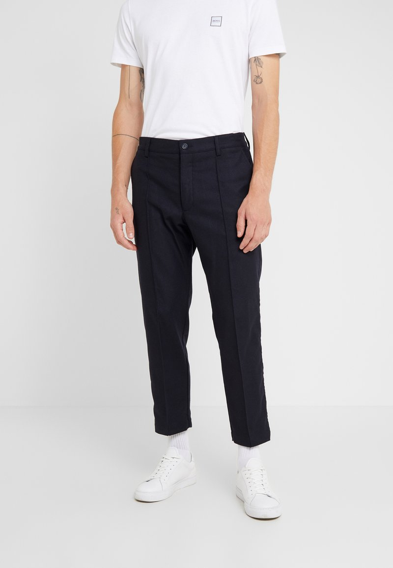 YMC You Must Create - HAND ME DOWN TROUSER - Trousers - navy