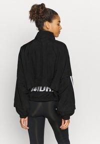 adidas Performance - COVER UP - Training jacket - black - 2