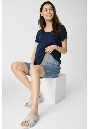 Denim shorts - denimlight blue