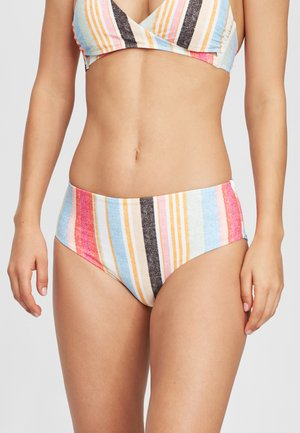 MALTA BOTTOM - Bikini bottoms - yellow with red