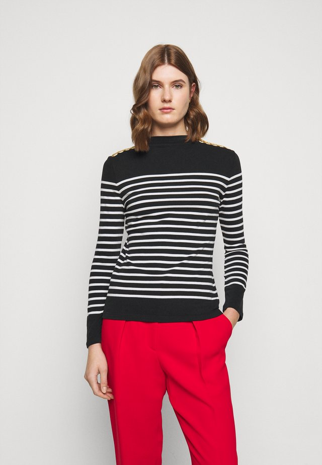 Long sleeved top - noir