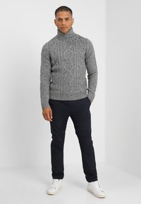 Pier One - Jumper - mottled grey - 1