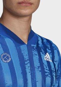 adidas Performance - Print T-shirt - blue - 5