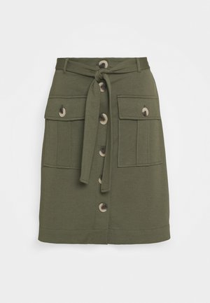 FQNANNI CARGO - A-line skirt - olive