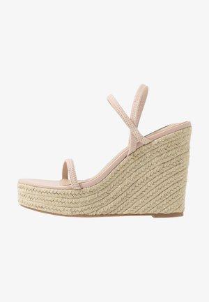 SKYLIGHT - Sandály na vysokém podpatku - nude