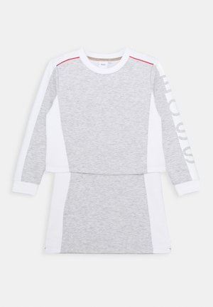 DRESS - Jersey dress - chine grey
