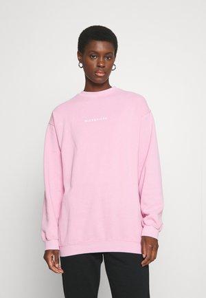WASHED SWEAT - Sweater - pink