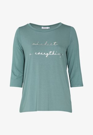 Long sleeved top - emerald green