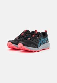 ASICS - GEL SONOMA 6 - Trail running shoes - black/deep sea teal - 1