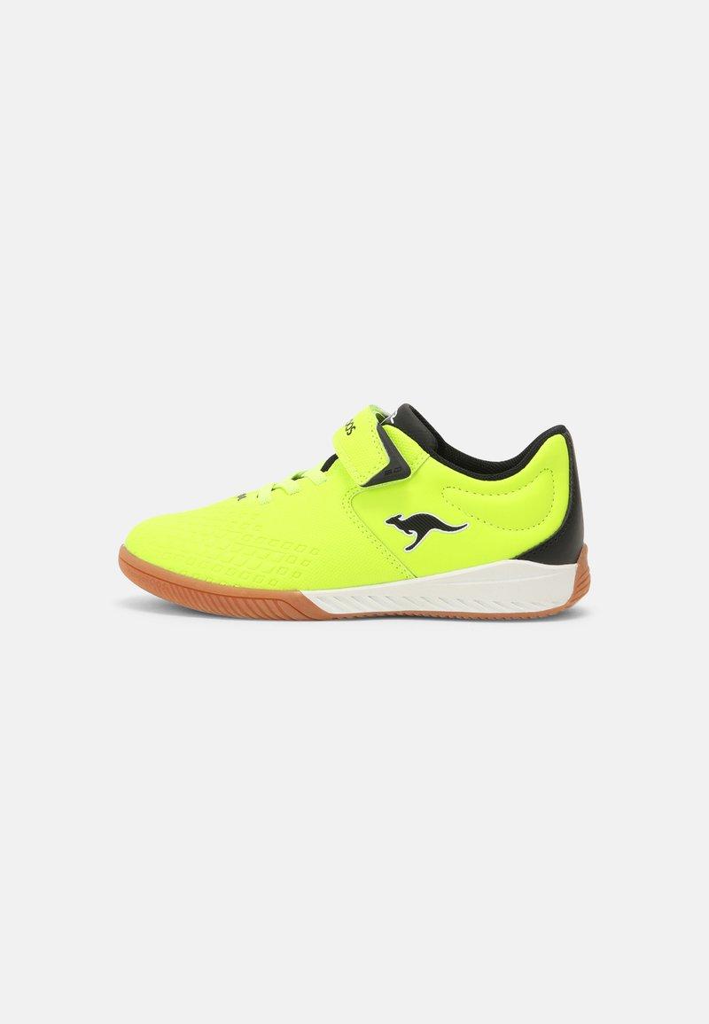 KangaROOS - K5-COMB EV - Sneaker low - neon yellow/jet black