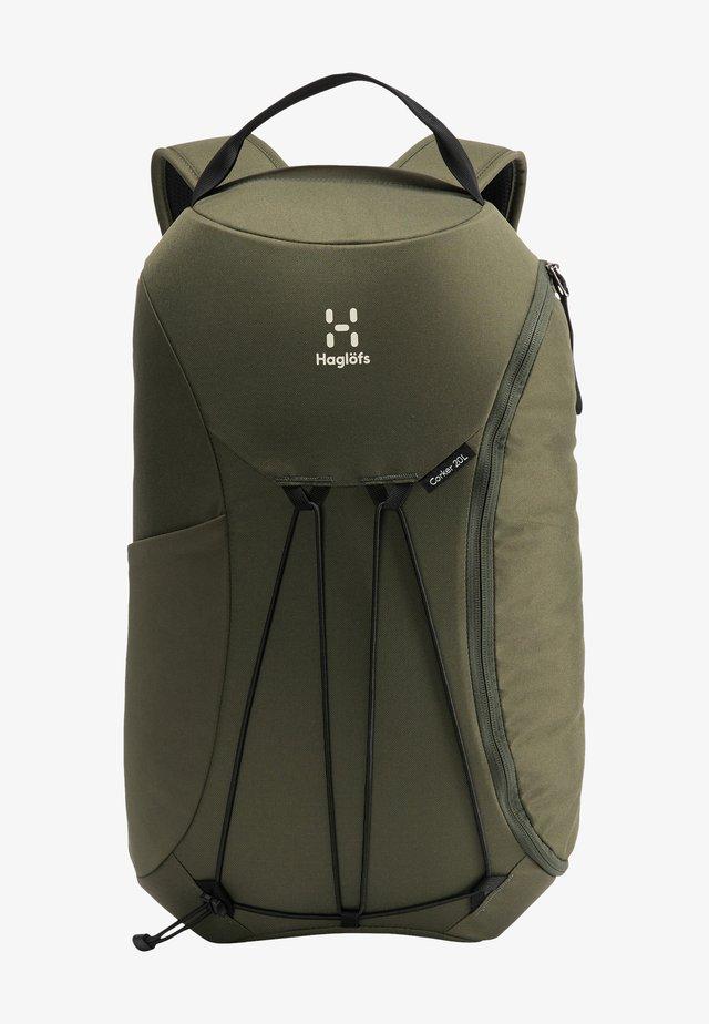 Hiking rucksack - deep woods
