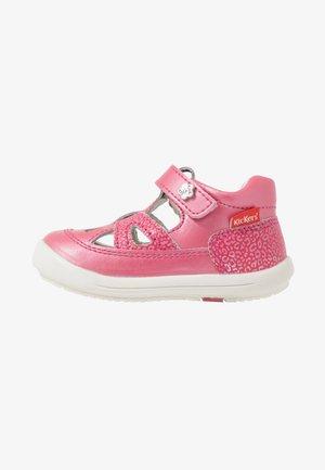 KIKI - Baby shoes - rose fonce