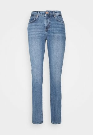 NMOLIVIA - Jeans slim fit - medium blue denim