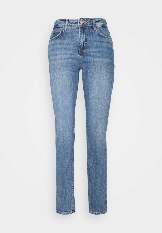 NMOLIVIA - Slim fit jeans - medium blue denim