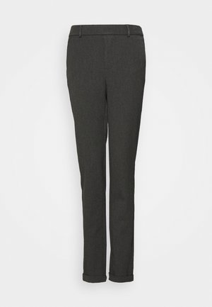 VMMAYA LOOSE SOLID PANT - Broek - dark grey melange